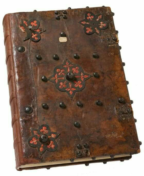 RE-backed choir book, around 1380, Italy (Florence). V & A museum