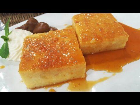 Budín de pan mixto con leche condensada - YouTube