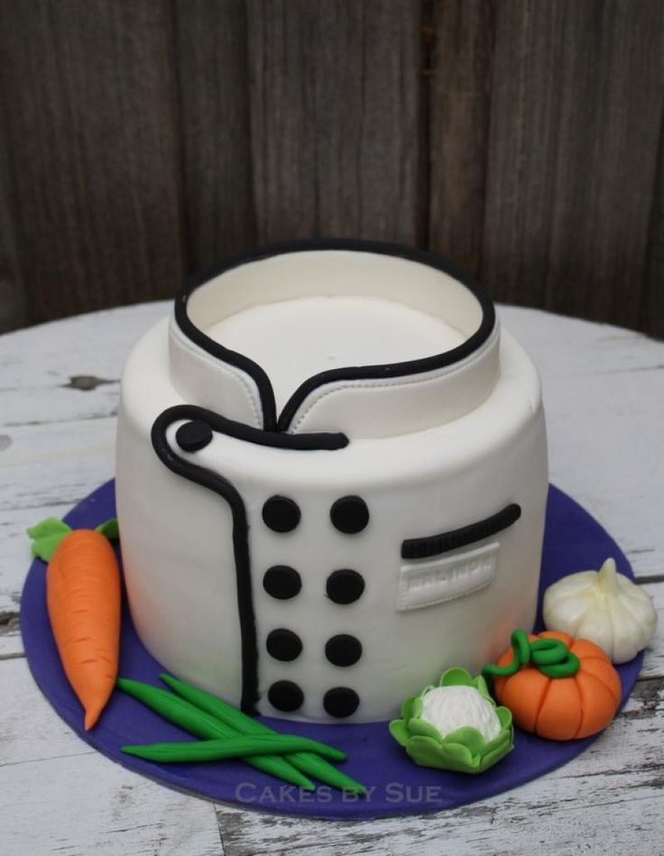 Chef themed cake Collection