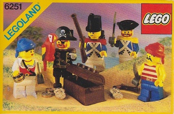 6251-1: Pirate Mini Figures | Brickset: LEGO set guide and database