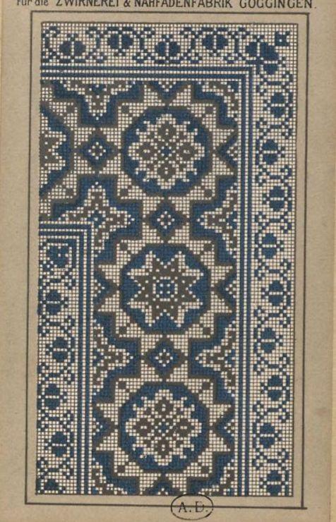 Gallery.ru / Фото #75 - старинные ковры и схемы для вышивки - SvetlanN