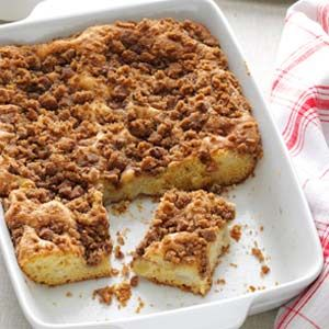 Apple Pear Coffee Cake Recipe from Taste of Home -- shared by Joanne Hoschette of Paxton, Massachusetts: