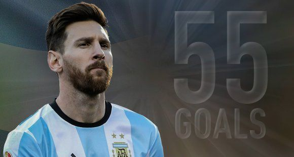 Lionel Messi breaks Argentina's all-time goal-scoring record
