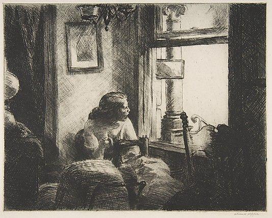 East Side Interior Edward Hopper (American, Nyack, New York 1882–1967 New York) Date: 1922 Etching