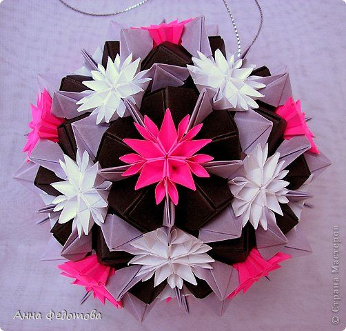 kusudama- previous pinner didn't give the name