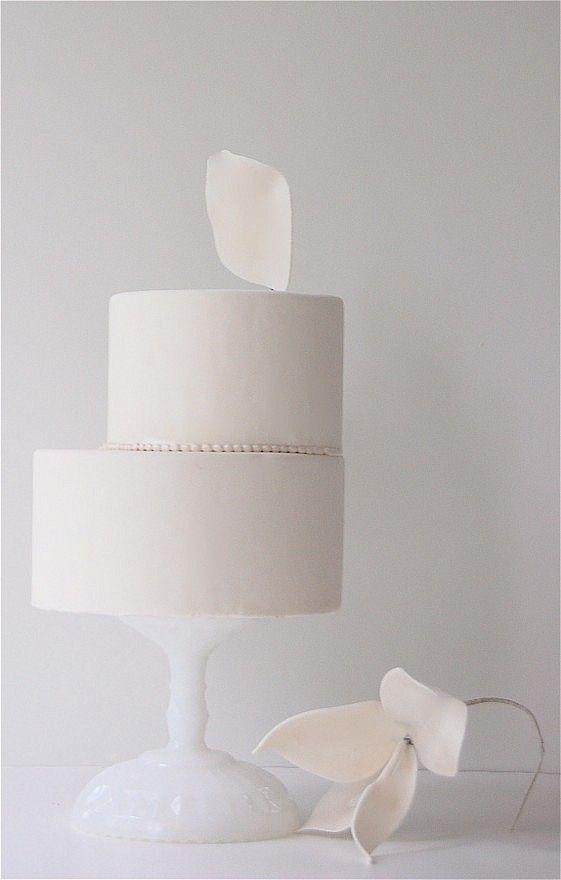 Maggie Austin - Modern Perched Petal | Architectural Cake | Minimal Design