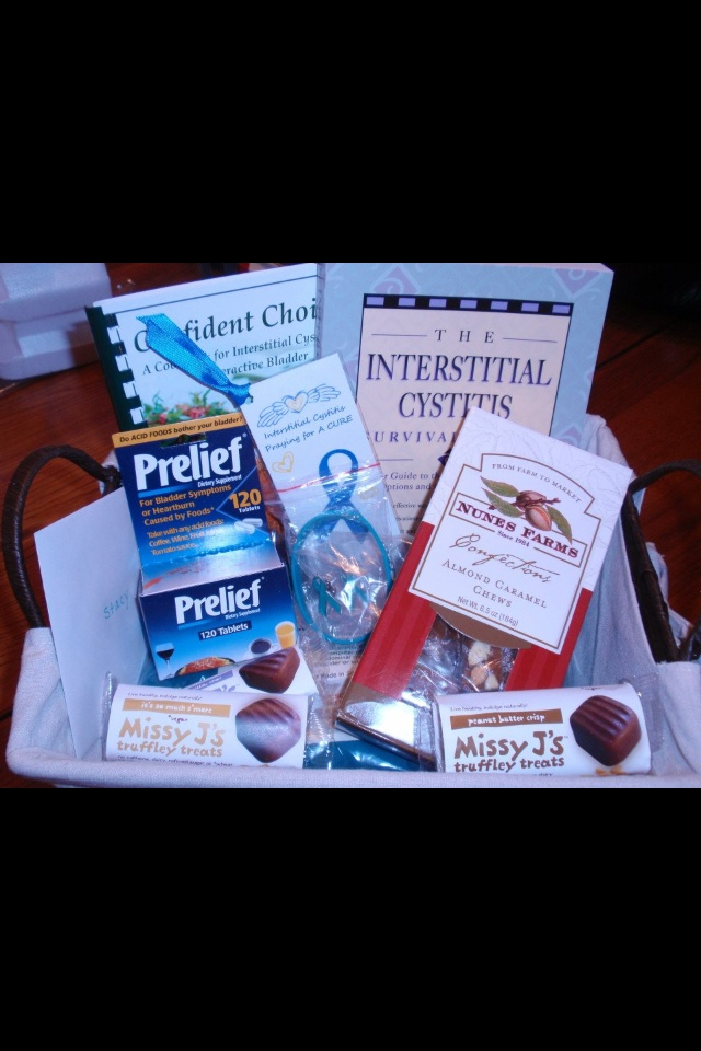 IC Basket Found On Internet~Great Idea for a loved one or friend you know who is newly diagnosed!!