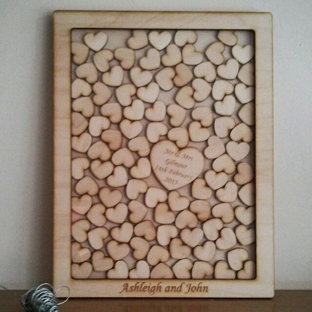 A personal favourite from my Etsy shop https://www.etsy.com/uk/listing/227463597/wedding-drop-box-dropbox-wedding-guest
