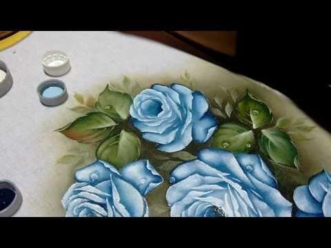 Solene Fernandes rosa azul 2 | Cantinho do Video