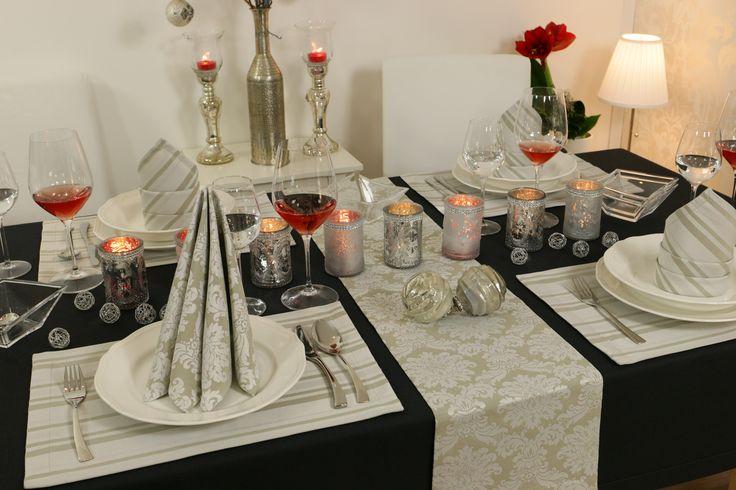 19 besten feine tischdecken f r weihnachten und advent. Black Bedroom Furniture Sets. Home Design Ideas