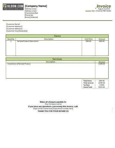 9 best Free Invoice Template Online images on Pinterest Invoice - invoice services