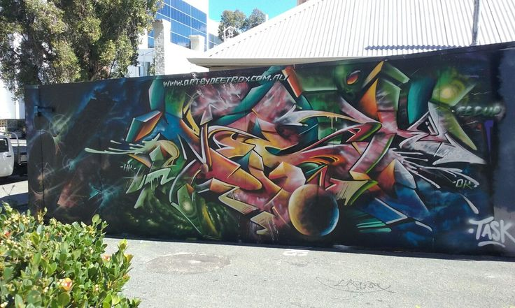 Perth City graffiti