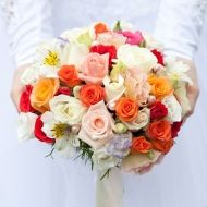 Colorful Surprise Bridal Bouquet - Colorful Surprise Bridal Bouquet > View Full-Si... | Surprise, Bouquet, Colorful, Purchased,