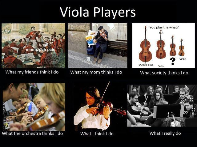viola players meme pinning this for several people