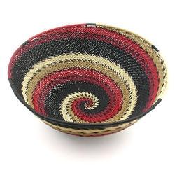 Africa | Telephone Wire Basket | Ilala Weavers, KwaZulu Natal, South Africa