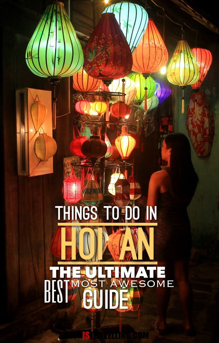There so many things to do in Hoi An, Vietnam, including a walk through the old town, a bike ride to the beach and experiencing the monthly lantern festival. Planning a trip to Hoi An? This is your ultimate, best, most awesome guide!