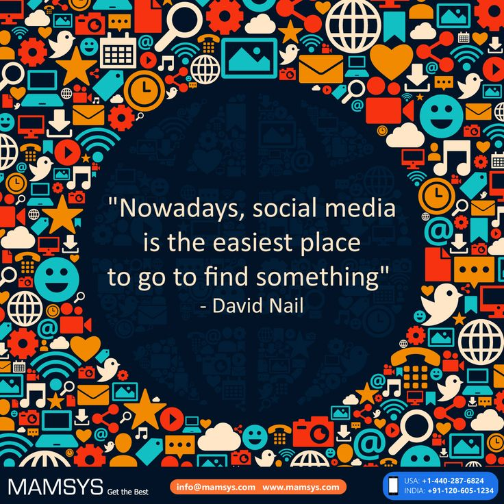 """!! """"Nowdays, social media is the easiest place to go to find something""""  #Quotes #Socialmedia #Digitalmarketing #quoteoftheday"""