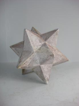 Zenon Fiberglass Star - Mecox Gardens