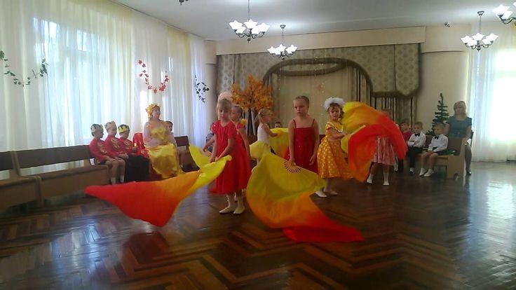 """танец """"Осенний ноктюрн"""" с веерами"""