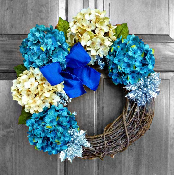 Hanukkah decorations, Holiday wreaths and Wreaths on Pinterest