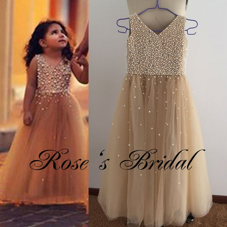 Cheap champagne girls dresses, Buy Quality flower girl dresses directly from…