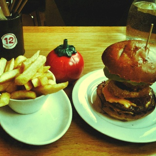 Taxi burger - GBK London
