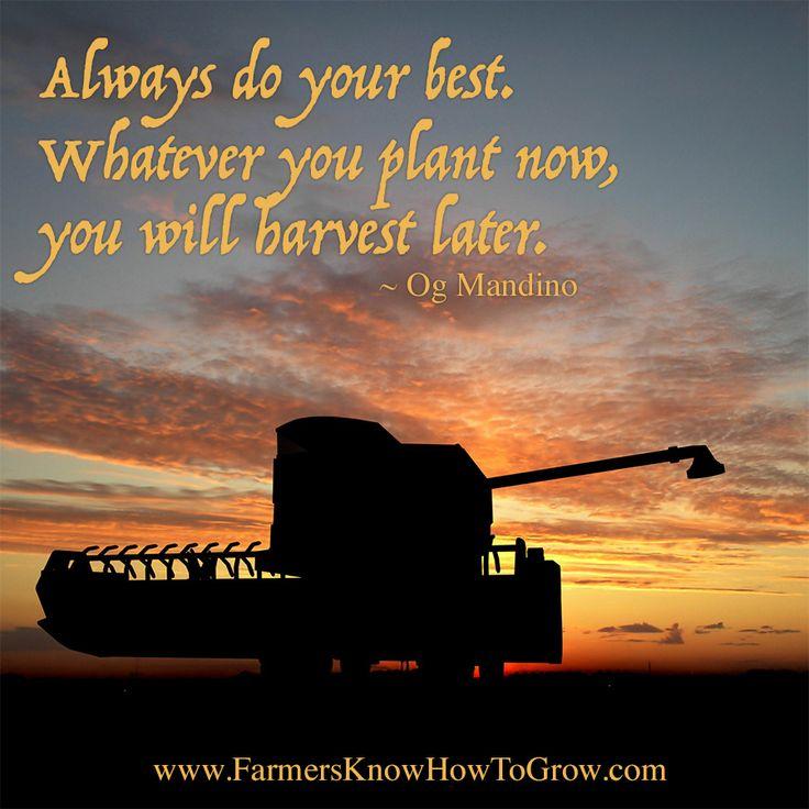 Og Mandino Quotes: 25+ Best Farm Life Quotes On Pinterest