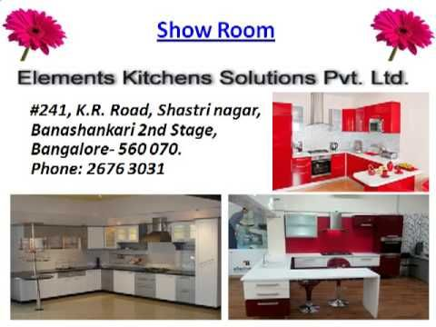 Kitchen Cabinets Design in Bangalore