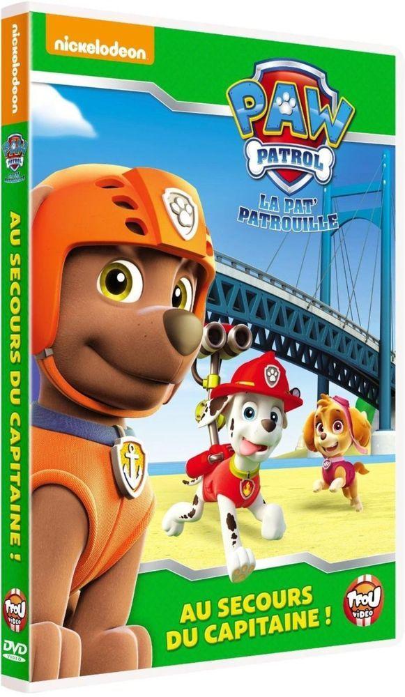 Paw Patrol, La Pat  Patrouille - 4 - Capitaine en détresse - DVD NEUF