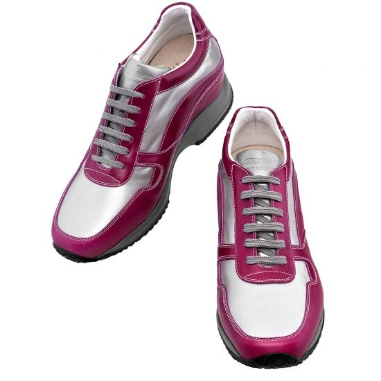 "#Sneakers donna con rialzo interno da 6 , 7, 8 o 10 centimetri.  ""Perth"" € 395 Disponibili su http://www.guidomaggi.it/"