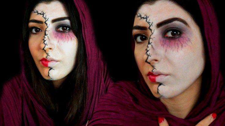 Cadılar Bayramı Makyajı || Ortak Video - Acemi Doktor- Ben Tuğçe