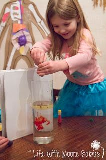 Preschool Science - Fireworks in a Jar