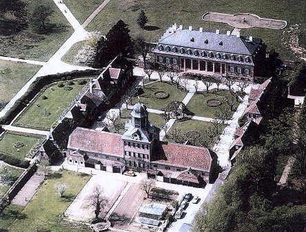Aerial view of Wolfsgarten