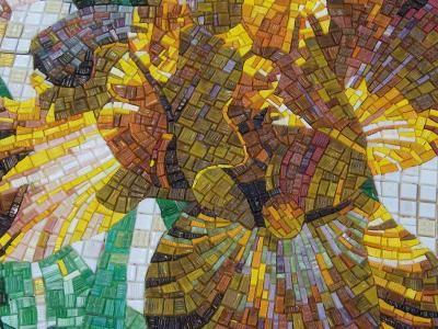 Mosaico+ Artistic Mosaics - design Giulio Candussio - #mosaicopiu #mosaic #mosaico #italiandesign #Italy #madeinitaly #artigianalità #art #flowers #mosaicoartistico #mosaicotradizionale #mosaicinspiration #artisticmosaic #fiori #vetro