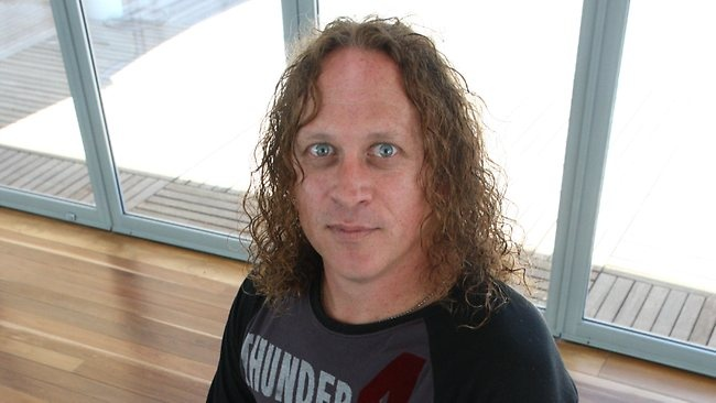 Another great Aussie rocker, Dave Gleeson of the now defunct Screaming Jets. Crazy assed guy, with a deep, dirty chuckle