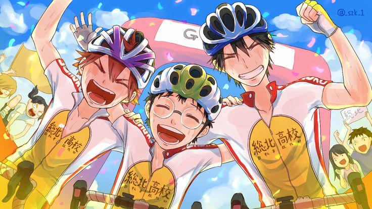Naruko, Onoda & Imaizumi | Yowamushi Pedal