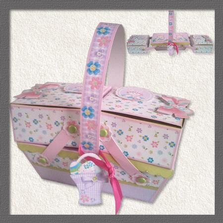 13 best easter cards gift boxes images on pinterest gift boxes cantilever easter box on craftsuprint add to basket negle Gallery