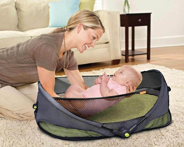 6pcs/lot Wholesale Brica Fold N 'Go Baby Folding Bed Cot Bed For baby Travel Outdoors Crib B709