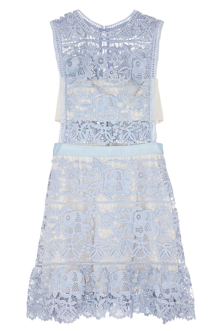 Self Portrait Guipure Lace Mini Dress, £200, Net-a-PorterSelf Portrait is our go-to brand for wedding guest dresses; beaut styles and chances are no-one will have the same one.