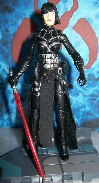 Star Wars Custom Female Sith Lord Meeka Trinity ROTS tcw AOTC SOTE Talon Malgus | eBay