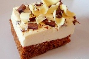 Brownie cu crema de mascarpone - Culinar.ro