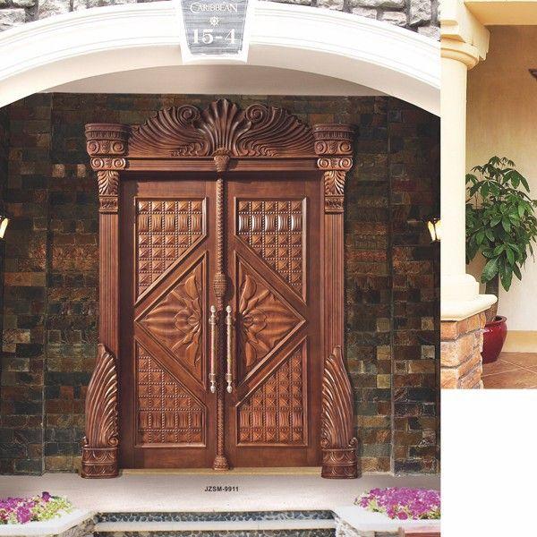 Newly Style Solid Diyar Wood Luxury Front Door Designs Here You See Newly Style Solid Diyar Wood Luxury F Door Design Front Door Design Pooja Room Door Design