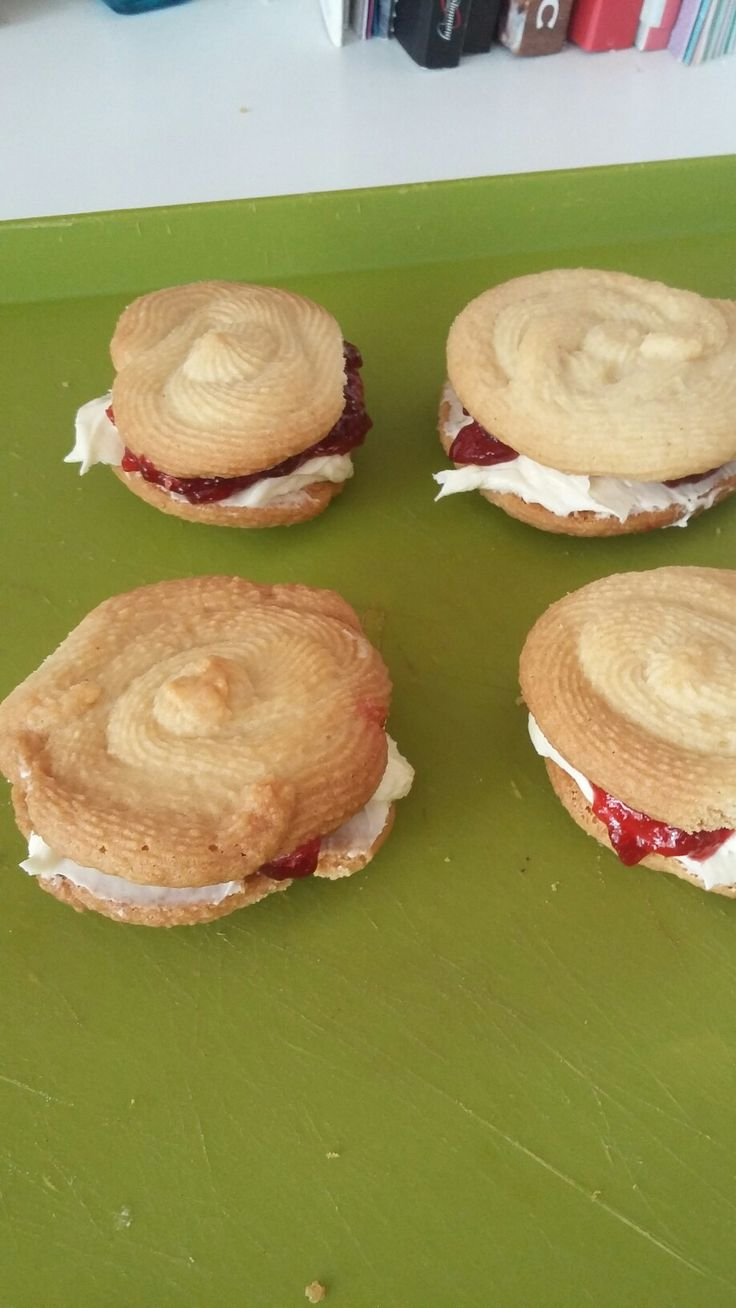 First attempt at viennese whirls