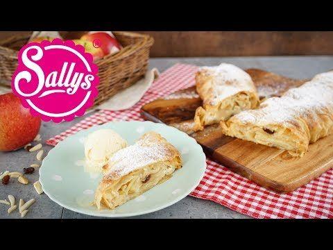 Apfelstrudel selber machen / Sallys Classics - Sallys Blog