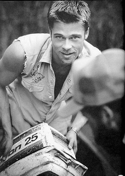 Brad Pitt. Yes I do need a handy man! ;)