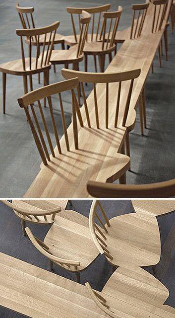 creative design of public seating