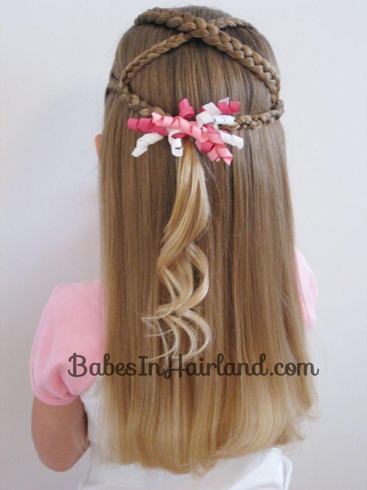 Criss Cross Braids from BabesInHairland.com    #braids #hairstyles