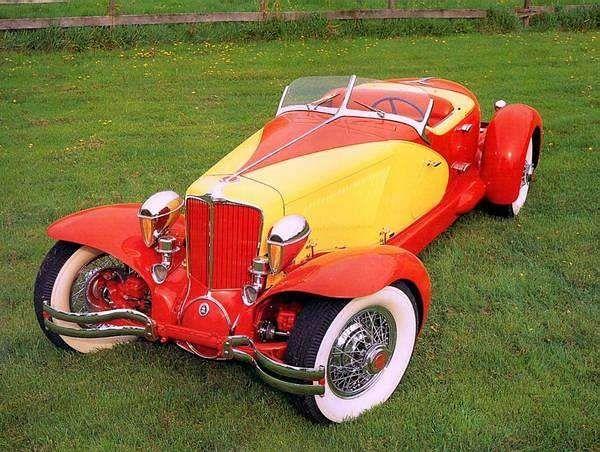 1929 Cord L-29 Speedster - (Auburn Automobile Company, Connersville, Indiana 1929-1937