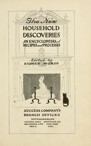 Cover of: The new household discoveries by Sidney Levi Morse