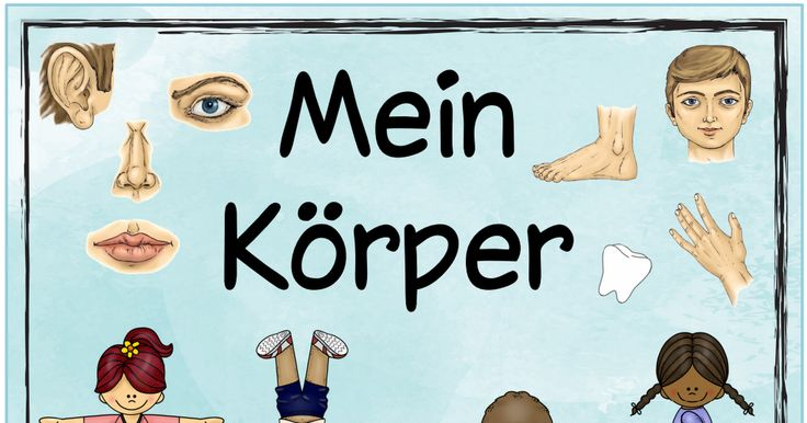 12 best Schule - DAZ - Körper images on Pinterest | Learn german ...